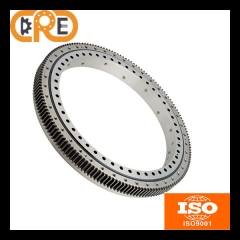 Three row roller slewing bearings external gear